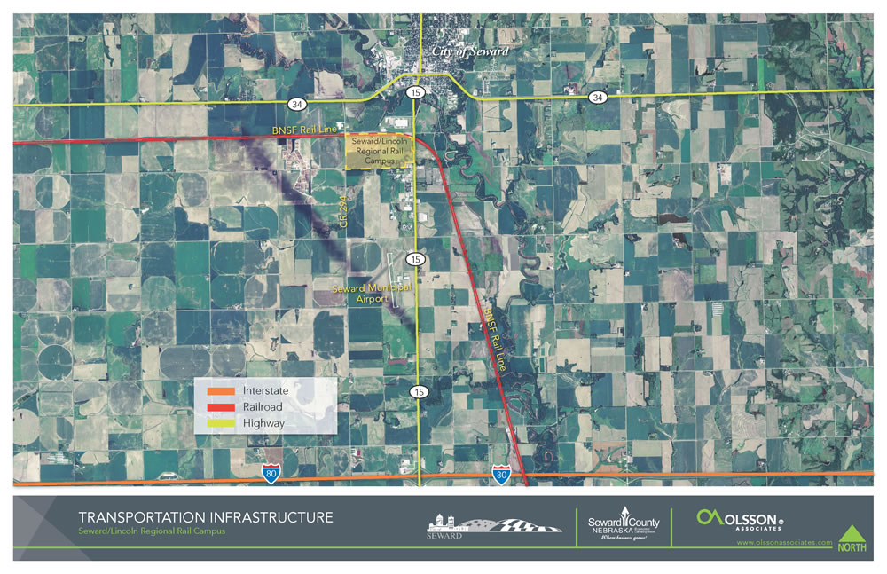 Transportation Infrastructure - Seward/Lincoln Regional Rail Campus